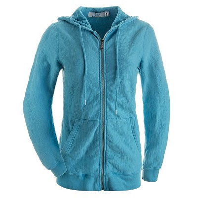 Ladies Hooded Zipper 14oz 100% Maché  Cotton Tropical SALE