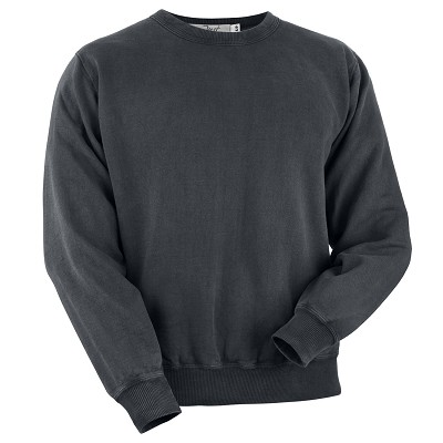 Crewneck Charcoal 100% Cotton