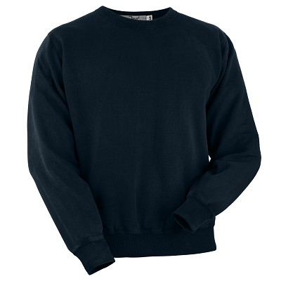 Crewneck Dark Navy 100% Cotton