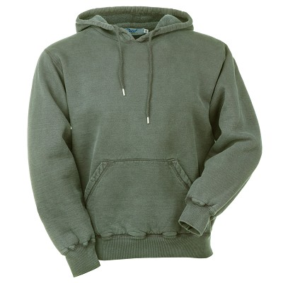 Hooded Pullover Olive Sand 100% Cotton
