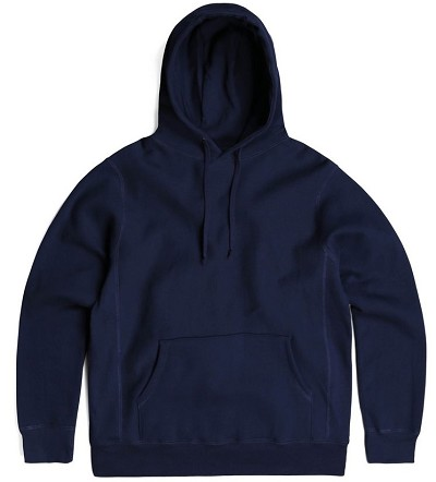 PRIVE Hoodie Navy 100% Cotton